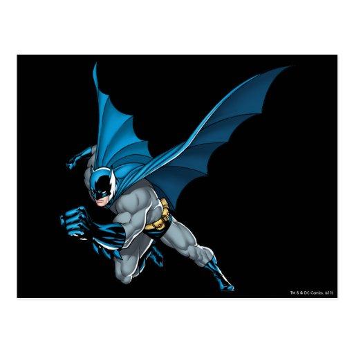 Batman Leaps - Arm Forward Post Cards