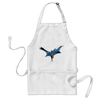 Batman leaps with rope aprons