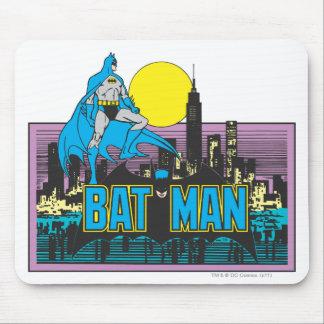 Batman & Letters Mouse Pad