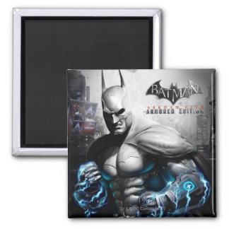 Batman - Lightning 2 Inch Square Magnet