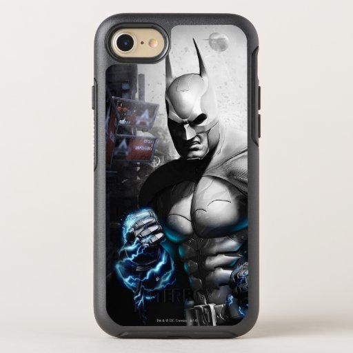 Batman - Lightning 3 OtterBox Symmetry iPhone SE/8/7 Case