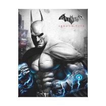 Batman - Lightning Canvas Print