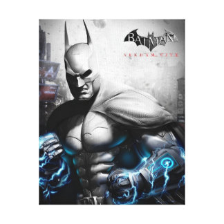 Batman - Lightning Canvas Print