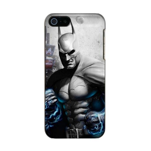 Batman - Lightning Metallic Phone Case For iPhone SE/5/5s