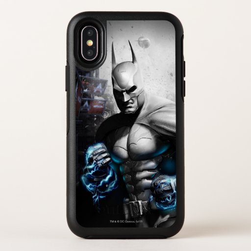 Batman - Lightning OtterBox Symmetry iPhone X Case