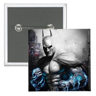 Batman - Lightning Pinback Button