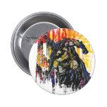 Batman Line Art Collage Pin