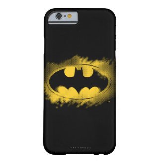 Batman Logo Black and Yellow Barely There iPhone 6 Case