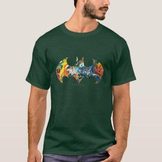 Batman Logo Neon/80s Graffiti T-Shirt