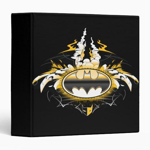 Batman Logo with Cars Binder
