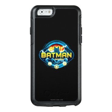 Batman Logo with Icons OtterBox iPhone 6/6s Case
