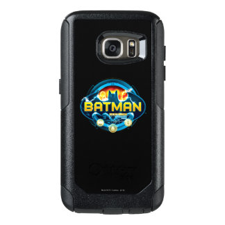 Batman Logo with Icons OtterBox Samsung Galaxy S7 Case