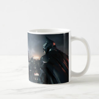 Batman Looking Over City Coffee Mug