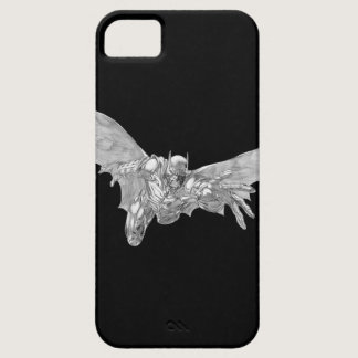 Batman Lunging Forward Drawing 2 iPhone SE/5/5s Case