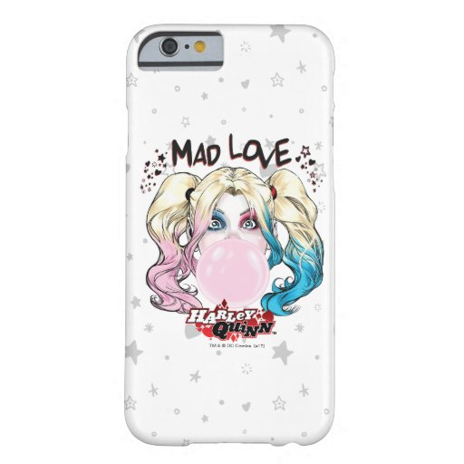 Batman | Mad Love Harley Quinn Chewing Bubble Gum Barely There iPhone 6 Case