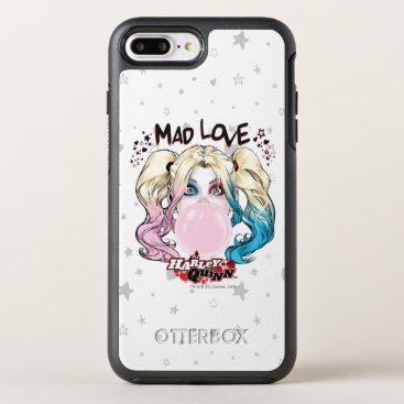 Batman | Mad Love Harley Quinn Chewing Bubble Gum OtterBox Symmetry iPhone 8 Plus/7 Plus Case
