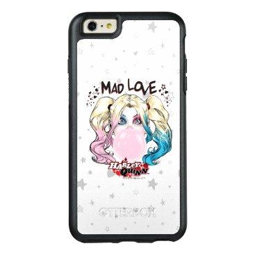 Batman | Mad Love Harley Quinn Chewing Bubble Gum OtterBox iPhone 6/6s Plus Case