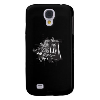 Batman Map to Arkham Collage Galaxy S4 Covers
