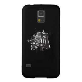 Batman Map to Arkham Collage Galaxy S5 Covers