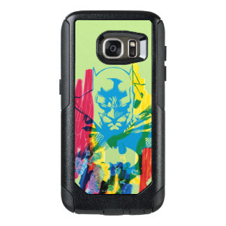 Batman Neon Marker Collage OtterBox Samsung Galaxy S7 Case