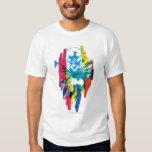 Batman Neon Marker Collage T-Shirt