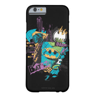 Batman Neon The Dark Knight Collage Barely There iPhone 6 Case