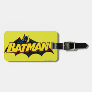 Batman | Old School Logo Bag Tag