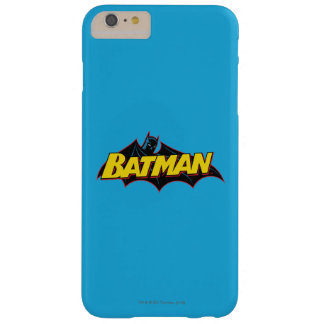 Batman   Old School Logo Barely There iPhone 6 Plus Case
