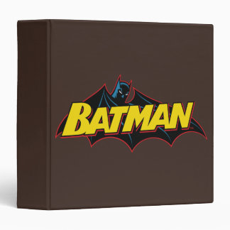 Batman | Old School Logo Binder