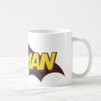 Batman   Old School Logo Coffee Mug