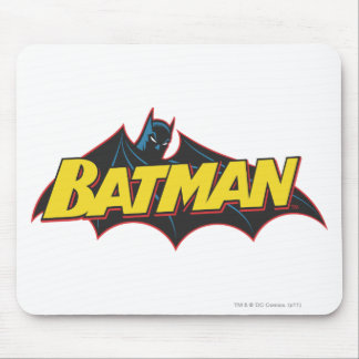 Batman | Old School Logo Mouse Pad