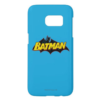 Batman | Old School Logo Samsung Galaxy S7 Case