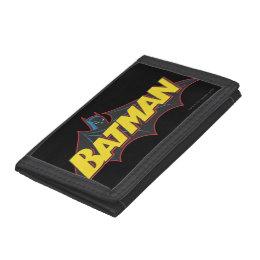 Batman | Old School Logo Trifold Wallet