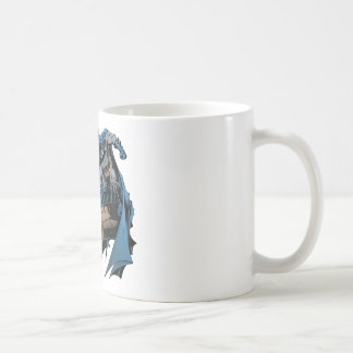 Batman on gargoyle coffee mug