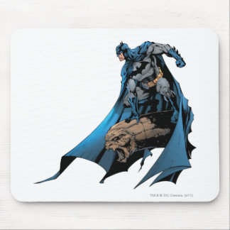 Batman on gargoyle mouse pad