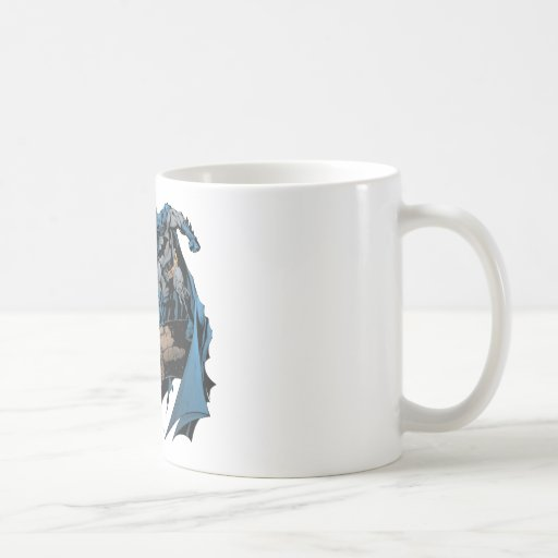Batman on gargoyle mugs