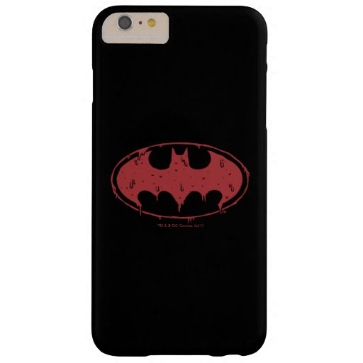 Batman | Oozing Red Bat Logo Barely There iPhone 6 Plus Case