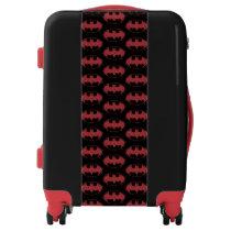 Batman | Oozing Red Bat Logo Luggage