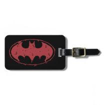 Batman | Oozing Red Bat Logo Luggage Tag