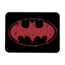 Batman | Oozing Red Bat Logo Magnet