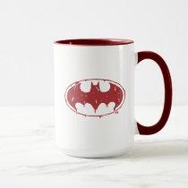 Batman | Oozing Red Bat Logo Mug