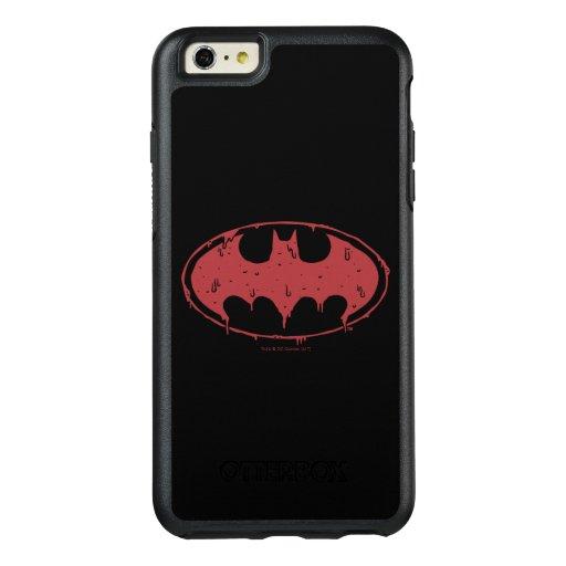 Batman | Oozing Red Bat Logo OtterBox iPhone 6/6s Plus Case