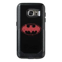 Batman | Oozing Red Bat Logo OtterBox Samsung Galaxy S7 Case