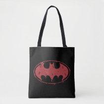 Batman | Oozing Red Bat Logo Tote Bag