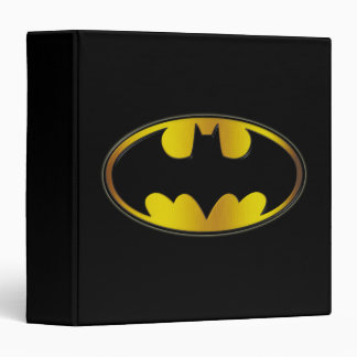 Batman Oval Logo 3 Ring Binder
