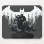 "Batman Perched on a Pillar Mouse Pad<br><div class=""desc"">Batman: Arkham Knight 