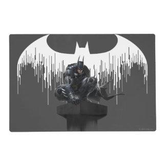 Batman Perched on a Pillar Placemat