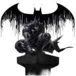 "Batman Perched on a Pillar Statuette<br><div class=""desc"">Batman: Arkham Knight 