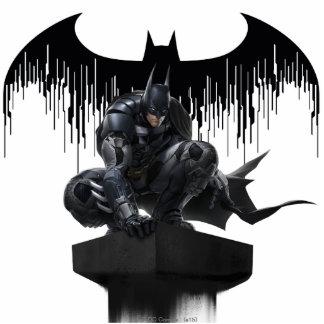 Batman Perched on a Pillar Statuette