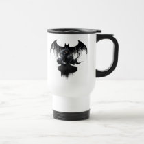 batman, arkham knight, video game, gotham city, arkham city, arkham asylum, harley quinn, joker, scarecrow, bat logo, arkham villains, dc comics, dark knight, wb games, super hero, Mug with custom graphic design
